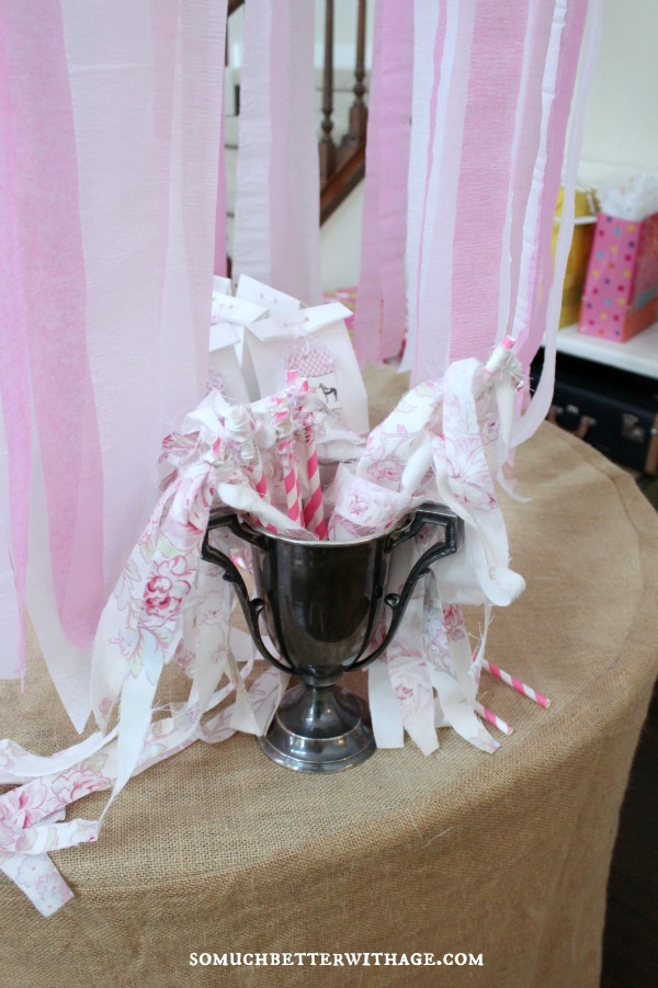 Vintage equestrian birthday party / party wands - So Much Better With Age