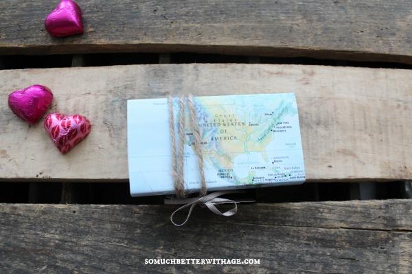 valentine craft with maps somuchbetterwithage.com