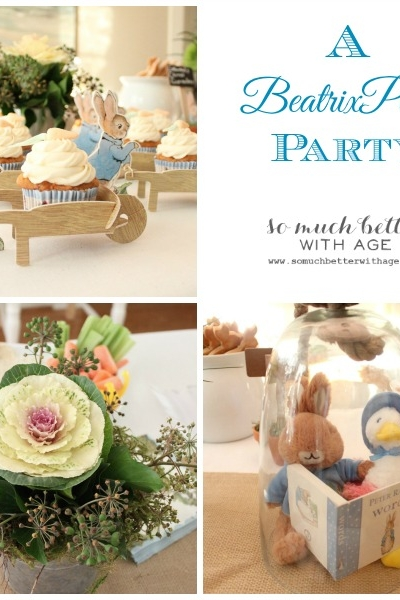 A Beatrix Potter Party
