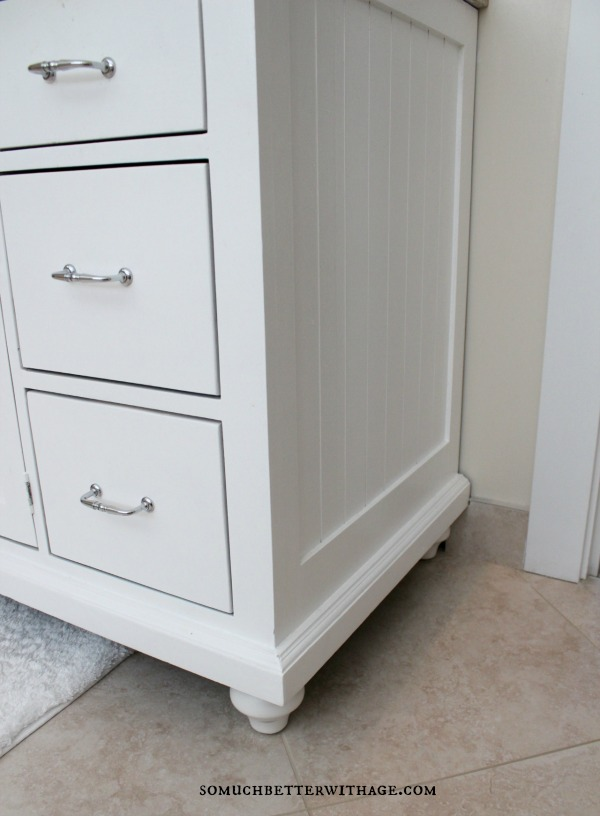 Real wood custom vanities for less / details in vanity - So Much Better With Age