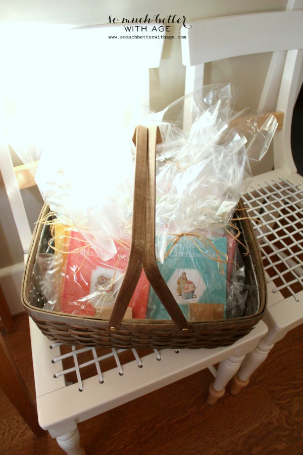 Beatrix Potter goodie bags.