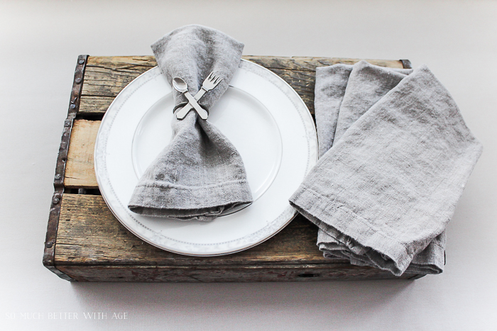 How to make your own linen napkins/ French Vintage - So Much Better With Age