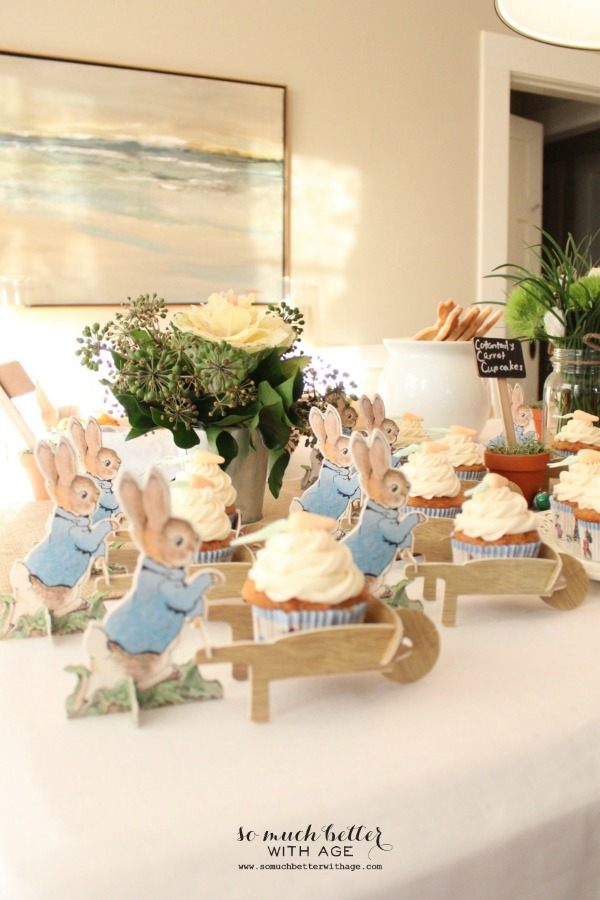 Peter rabbit party.
