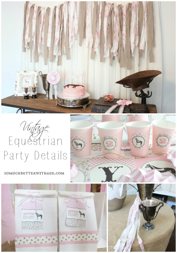 vintage equestrian party details somuchbetterwithage.com