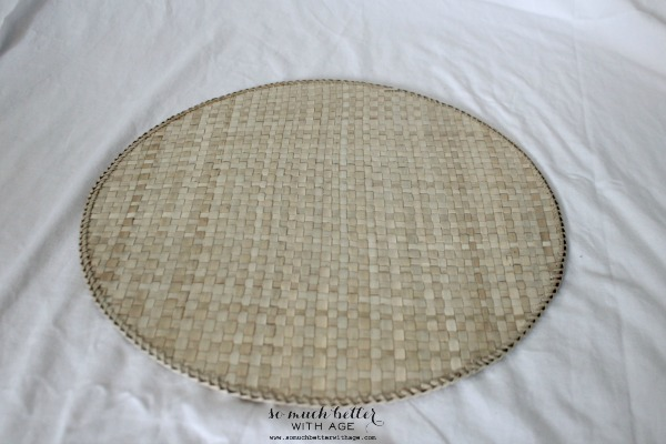 wicker-placemats