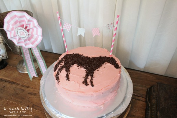 Pony cake - So Much Better With Age