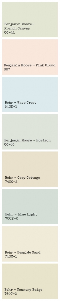 Organize your house paints and my paint colors revealed / my paint swatch revealed - So Much Better With Age