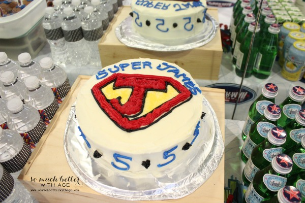 Superhero cake / How to ice and decorate a cake like a pro somuchbetterwithage.com