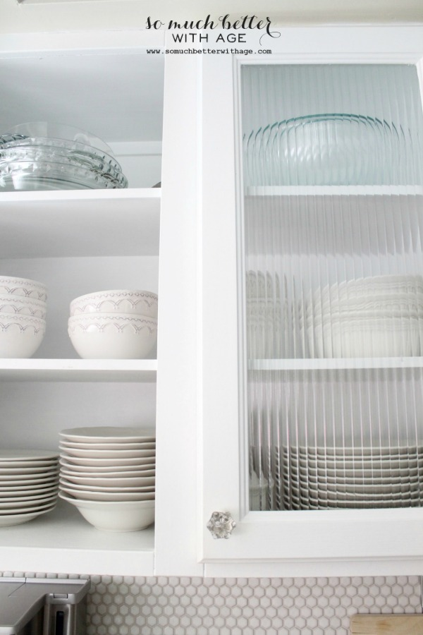 Updated Furniture / dishes in glass cabinets - So Much Better With Age