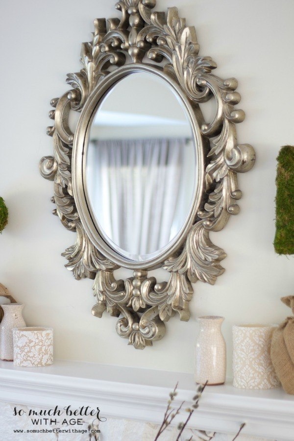 My New French Mirror - So Much Better With Age