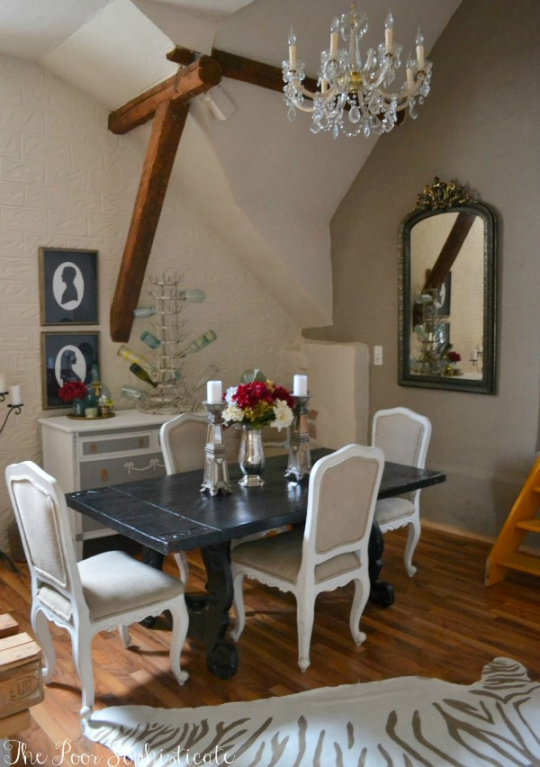 French Vintage house tour The Poor Sophisticate via somuchbetterwithage.com