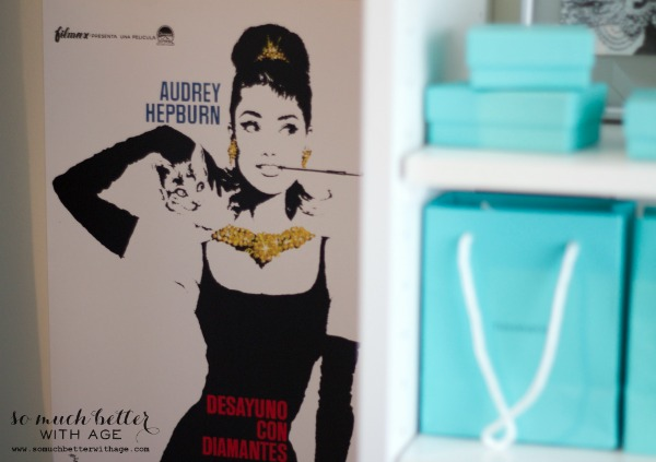 Audrey Hepburn inspired closet / Audrey Hepburn poster - So Much Better With Age
