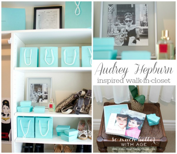 Audrey Hepburn Walk-In Closet by somuchbetterwithage.com