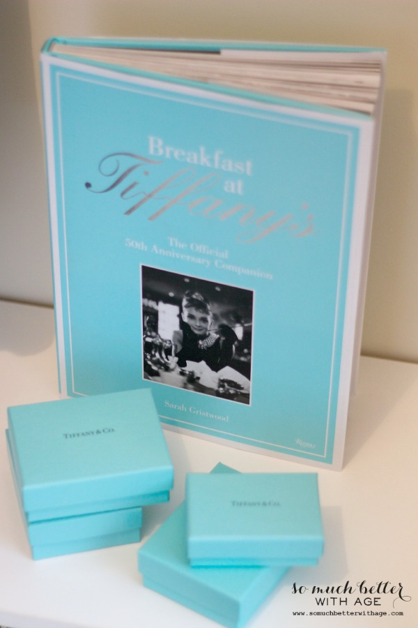 Audrey Hepburn Inspired Closet / Breakfast At Tiffanys book - So Much Better With Age