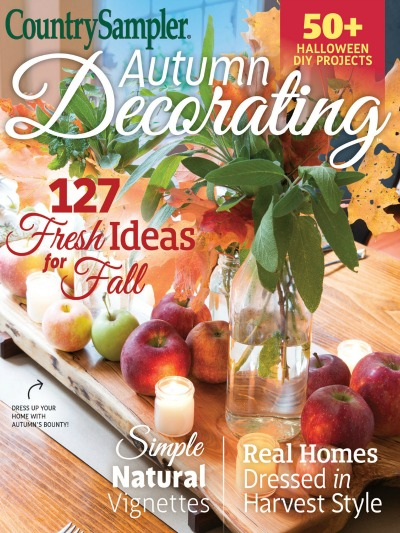 Country Sampler Autumn Decorating