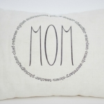 Mother's Day tea party / Mom pillow - So Much Better With Age