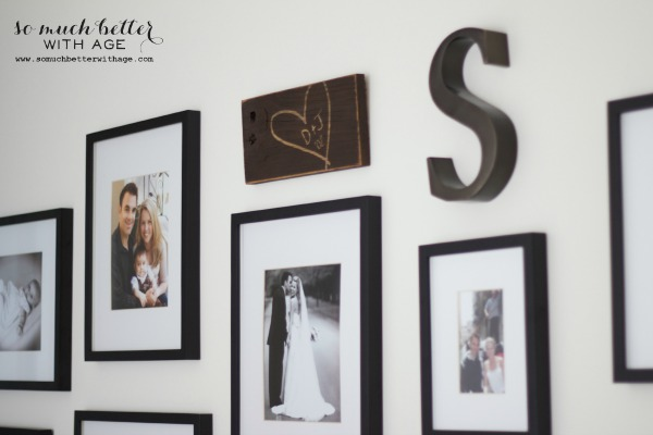 my gallery wall via somuchbetterwithage.com
