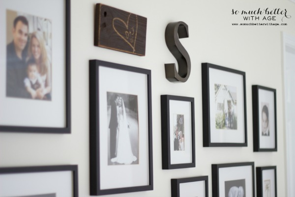 Rustic sign / my gallery wall via somuchbetterwithage.com