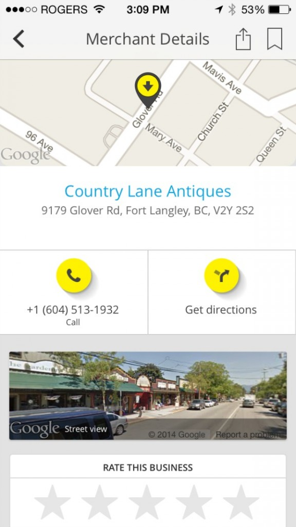 Vintage finds with yellow pages app via somuchbetterwithage.com