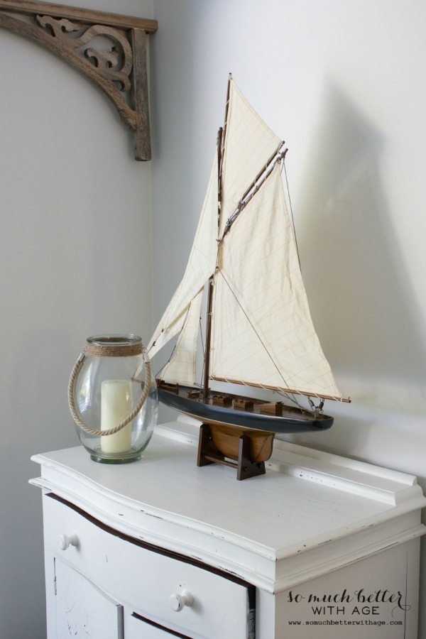 Beachy Decor Ideas / sailboat - So Much Better With Age