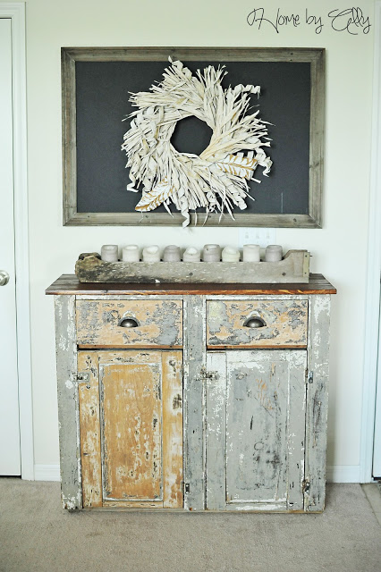 10 heavily distressed chippy furniture pieces / Home by Ally - So Much Better With Age