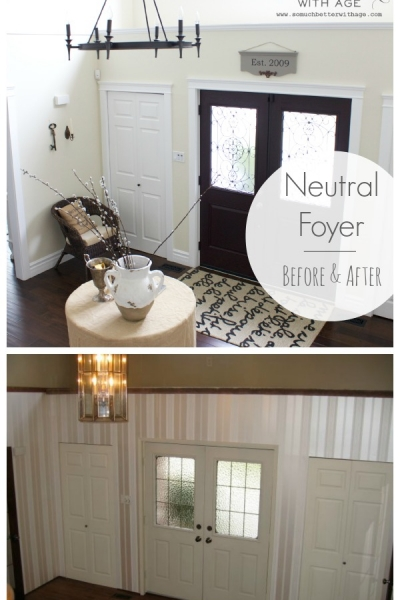 Neutral Foyer – Before & After