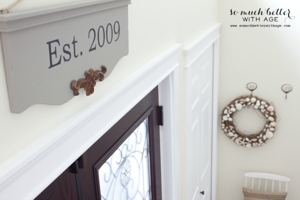 Easy wooden painted sign using a Silhouette cameo