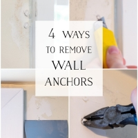 4 Ways to Remove Wall Anchors