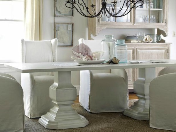 Beachy Decor Ideas / beachy dining room - So Much Better With Age