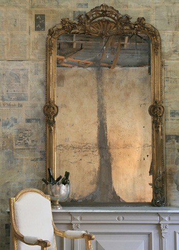 10 Tutorials On How To Antique A Mirror