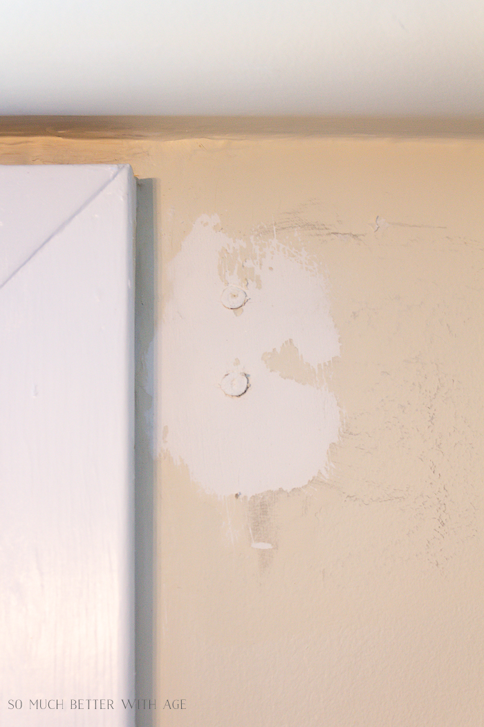 4 Ways to Remove Wall Anchors/putty over wall anchors - So Much Better With Age
