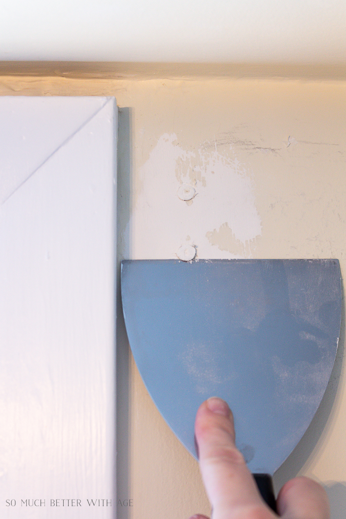 4 Ways to Remove Wall Anchors/putty knife - So Much Better With Age