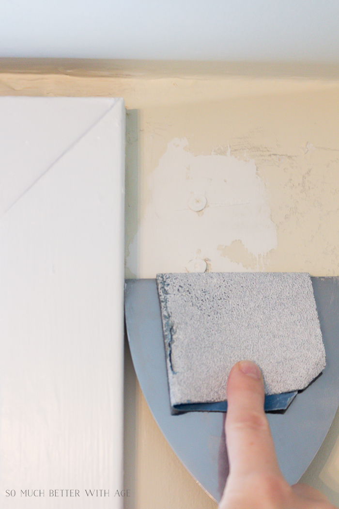 4 Ways to Remove Wall Anchors/sandpaper on putty knife - So Much Better With Age