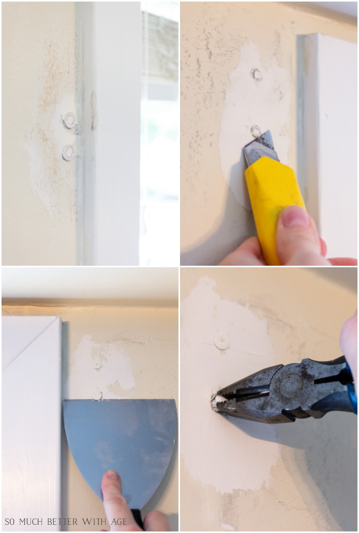 4 Ways to Remove Wall Anchors - So Much Better With Age
