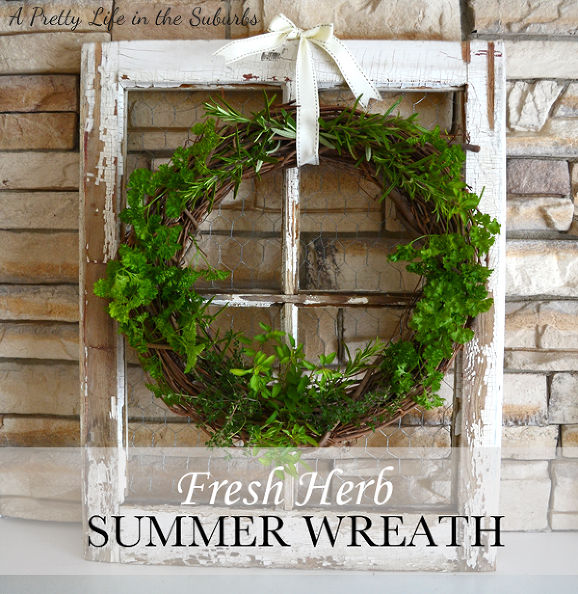 20 gorgeous summer wreaths | somuchbetterwithage.com