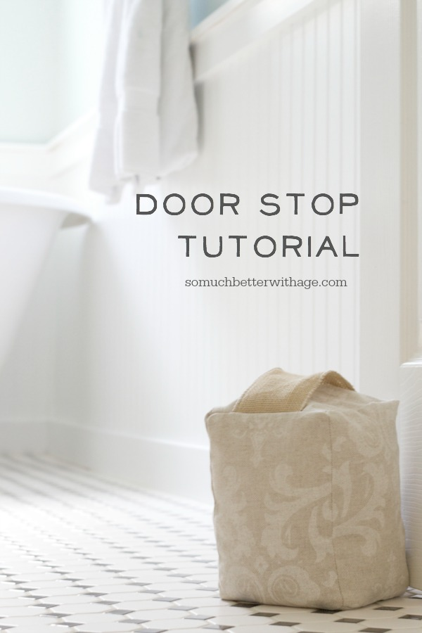 Door Stop Tutorial - So Much Better With Age
