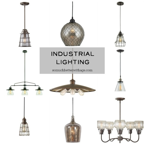 Industrial lighting for the cabin in the woods