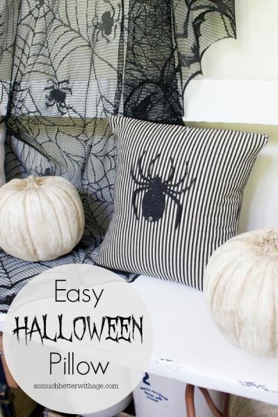 Easy Halloween Pillow