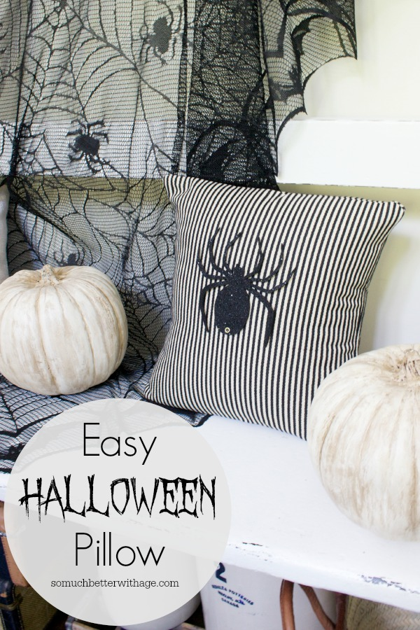 Easy Halloween Pillow