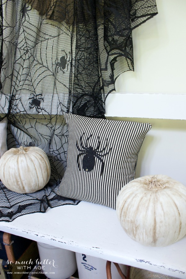 Easy Halloween Pillow - So Much Better With Age