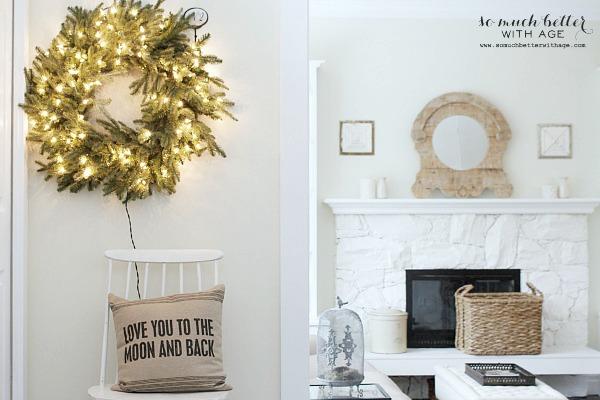 Balsam Hill wreath | somuchbetterwithage.com