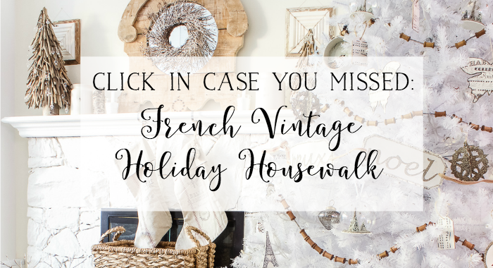French Vintage Holiday Housewalk