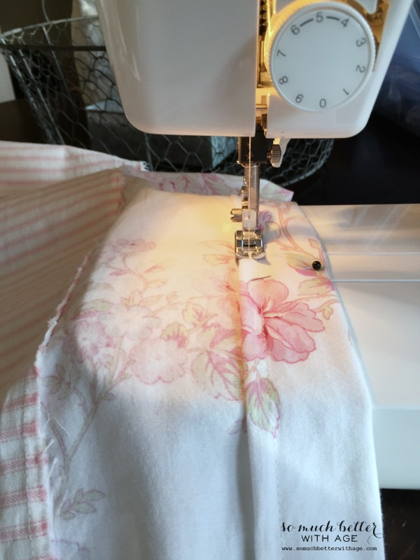 How To Sew Curtains / stitching the curtains with sewing machine - So Much Better With Age