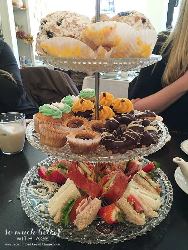 High tea and Junking with blogger friends by somuchbetterwithage.com