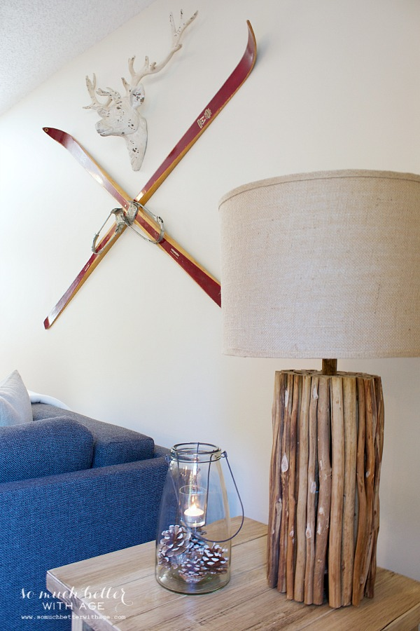 Rustic finds from Kirkland's / Kirkland's rustic twig lamp - So Much Better With Age