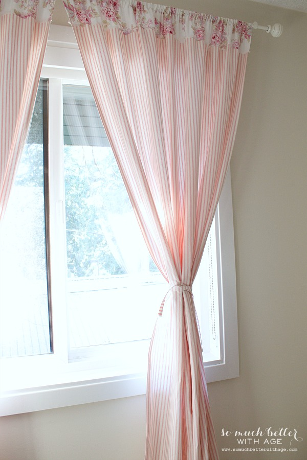 How To Sew Curtains / curtains hanging in room with window - So Much Better With Age