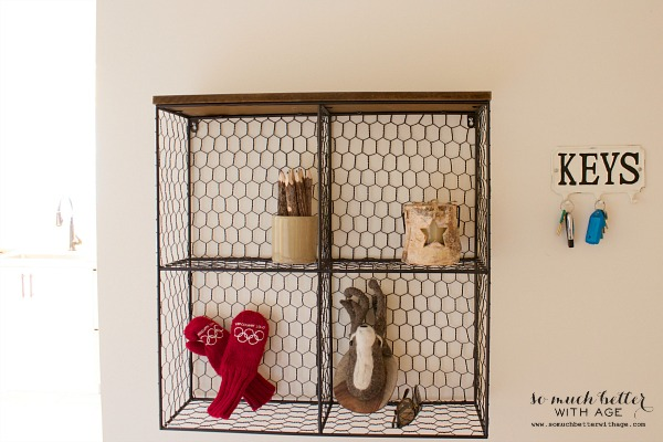 Rustic finds from Kirkland's / Kirkland's wire shelf - So Much Better With Age