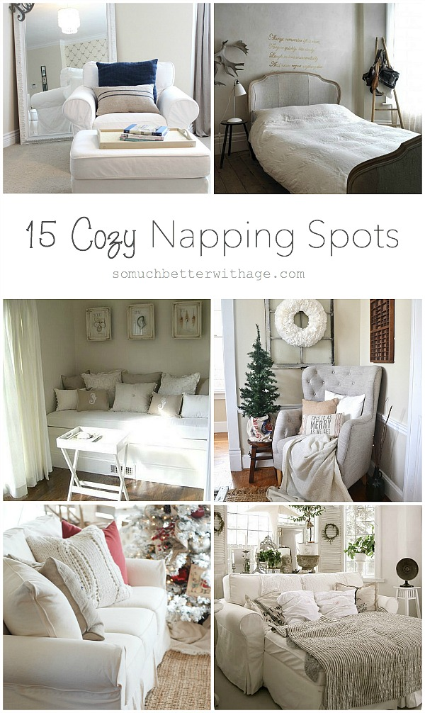 15 Cozy Napping Spots - So Much Better With Age