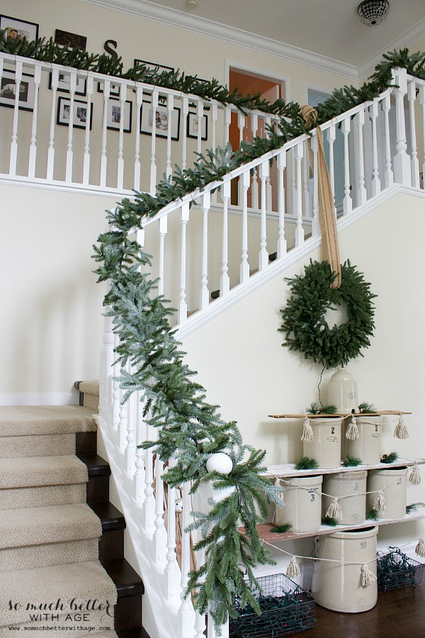 O Crockmas Tree / Balsam Hill Fraser Fir garland - So Much Better With Age