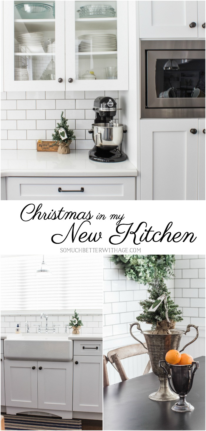 Christmas in My Newly Renovated Kitchen | So Much Better With Age
